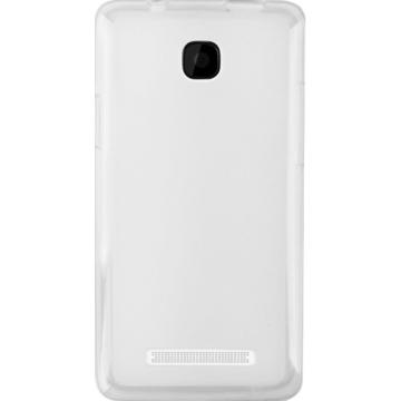 Белый Силиконовый чехол для Lenovo A1900 (TPU бампер) + ПЛЕНКА | SotaHata