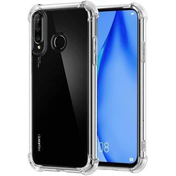 Прозрачный чехол для Huawei P40 Lite E (усиленный углами) Ultra Air