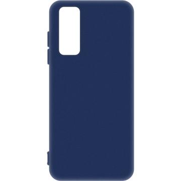 Матовый Чехол Huawei P Smart 2021 (силиконовая накладка) Blue. Чехлы и Аксессуары для Huawei P Smart 2021 | SotaHata